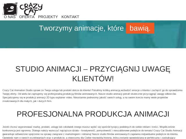Animacja 2D - Crazy Cat Studio